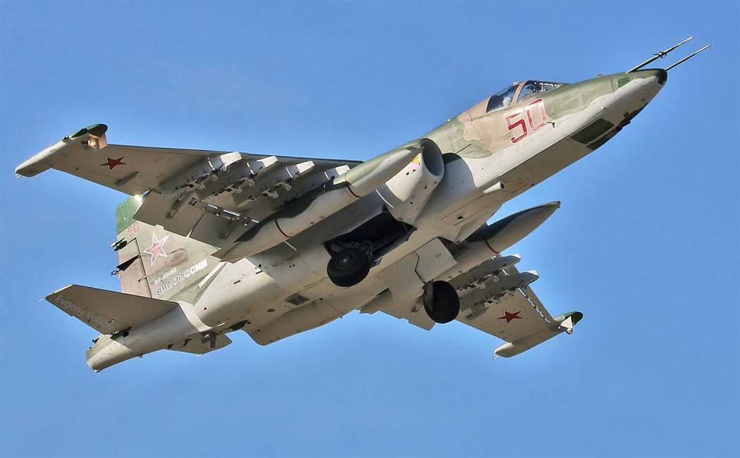 Штурмовик Су-25СМ3 (фото - Евгений Волков, http://www.airwar.ru)