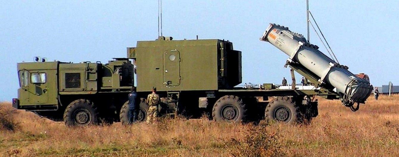 "Пусковая установка комплекса 3К60 ""Бал"" на позиции (http://mil.ru)"