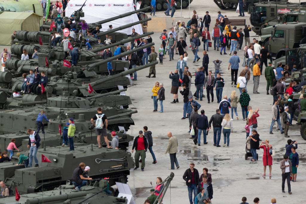 Форум Армия-2019_ Посетители выставки