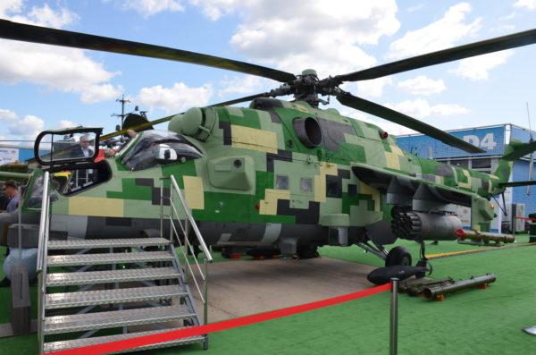 Ми-24_ Авиасалон МАКС-2019_ Фото_Александр Ермаков