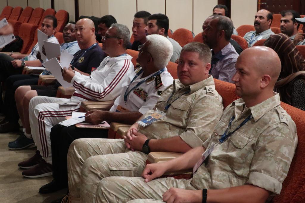 Армейские международные игры_Жеребьевка в Иране_ Конкурс Глубина-2019