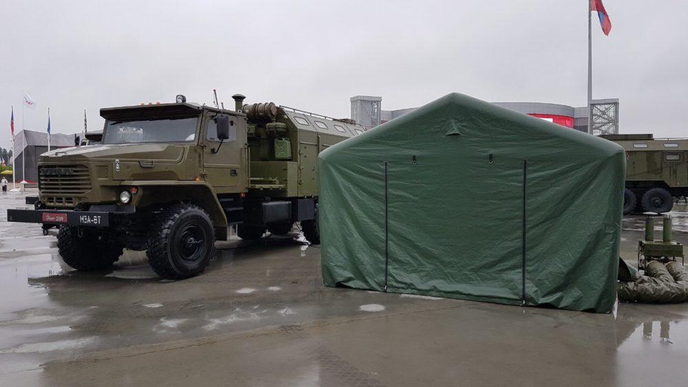 Компания АЗАРТ AZART_ пневмокаркасный модуль AZART ПКП-29