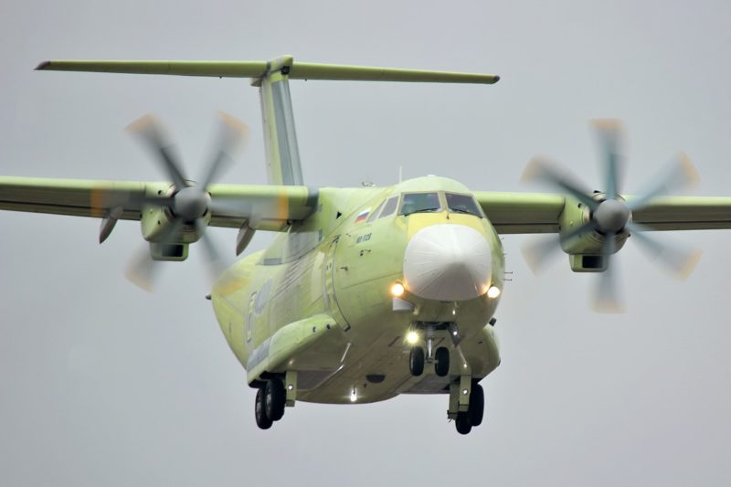 Легкий военно-транспортный самолет Ил-112В_ ПАО Ил
