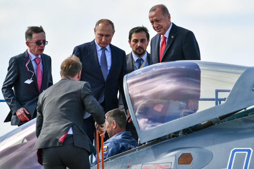МАКС-2019_Путин и Эрдоган