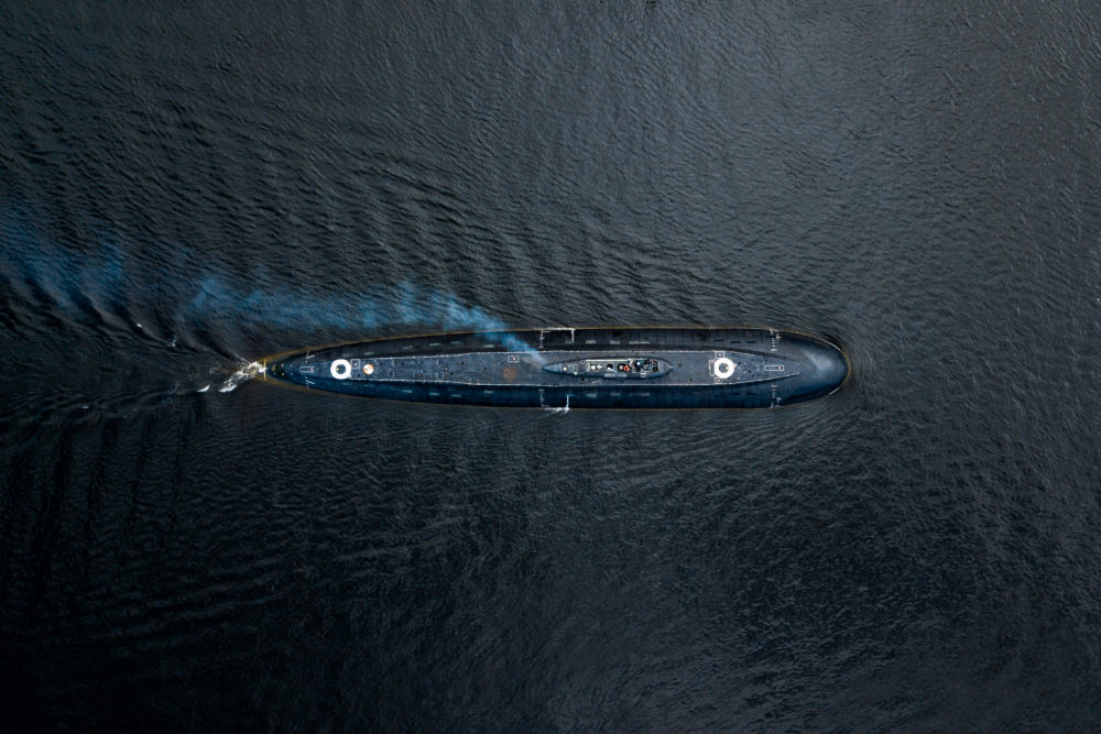 Подводная лодка Петропавловск-Камчатский_Ходовые испытания_ Адмиралтейские верфи