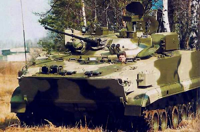 Боевая разведывательная машина БРМ-3К