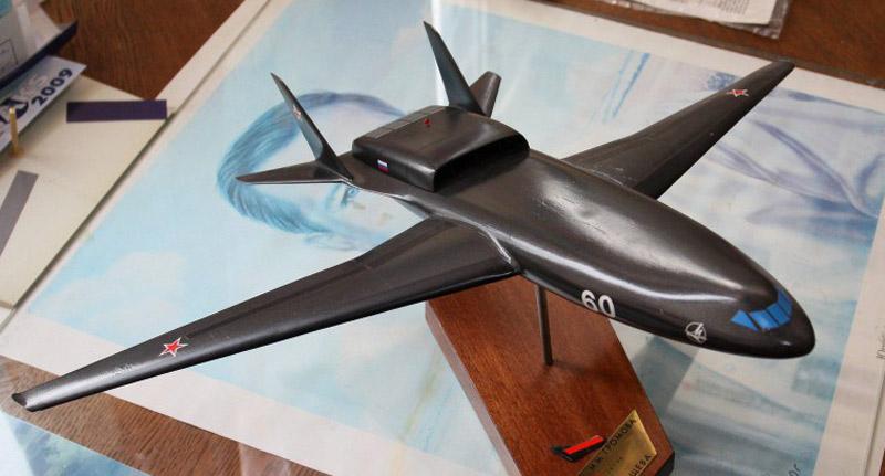 Модель самолета М-60Б в музее ЛИИ им.Громова, февраль 2012 г. (фото - Евгений Ерохин, http://missiles2go.ru/)