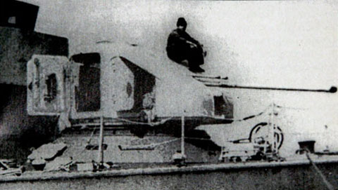 Опытная установка А-220 на катере пр.206ПЭ (Широкорад А.Б., Оружие отечественного флота)