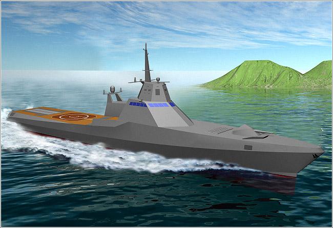 Экспортный вариант патрульного корабля пр.22160 с установкой А-220М (http://www.severnoe.com/)