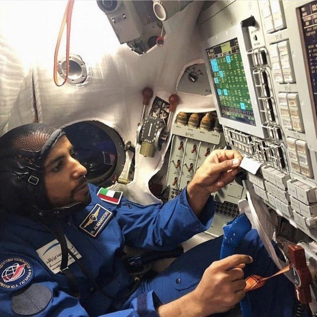 Хазза аль-Мансури, первый космонавт ОАЭ на МКС