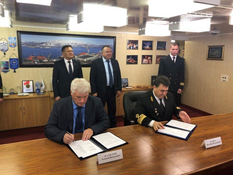 Балтийский завод_Подписание договора на строительство атомных ледоколов