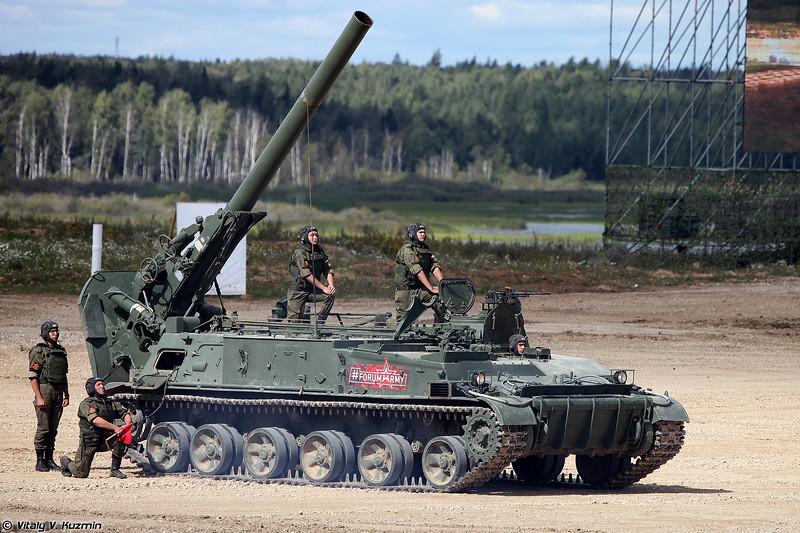 """Миномет 2С4 """"Тюльпан"""" (фото Виталия Кузьмина, https://www.vitalykuzmin.net)"""
