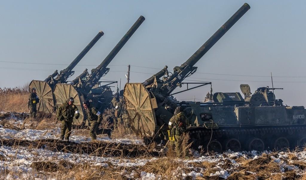 """Минометы 2С4 """"Тюльпан"""" на позиции (http://defence.ru)"""