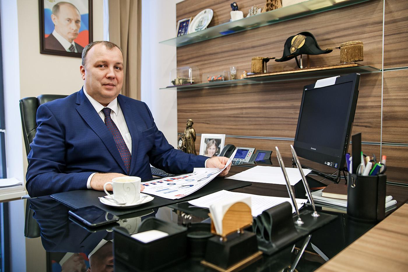 "Александр Нейгебауэр, вице-президент АО ""ОСК"""