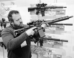 Впервые публично показан российский аналог американской винтовки AR-15