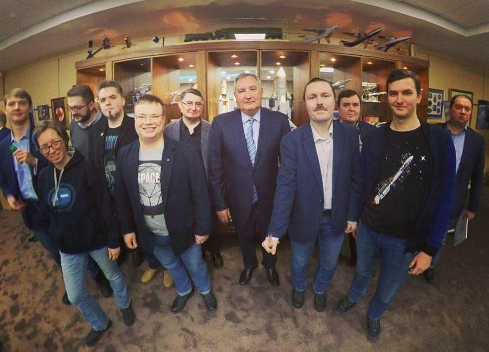 Рогозин Котов Роскосмос