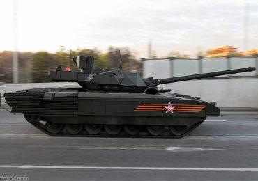 Танк Т-14 «Армата» испытали в беспилотном режиме