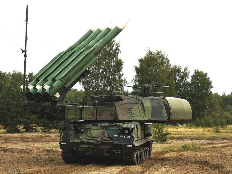 "Самоходная огневая установка 9А310М1 ЗРК ""Бук-М1"""