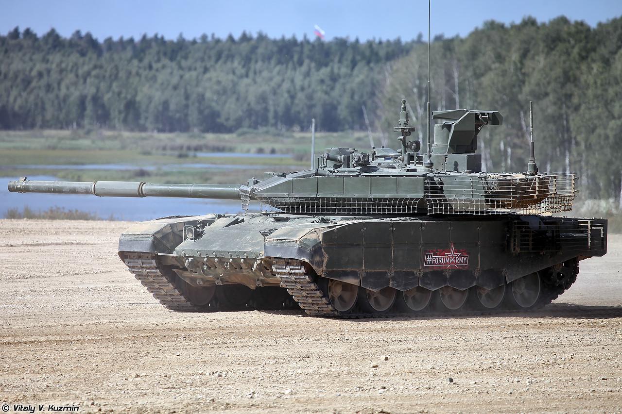 Основной танк Т-90М (фото - Виталий Кузьмин, https://www.vitalykuzmin.net/)