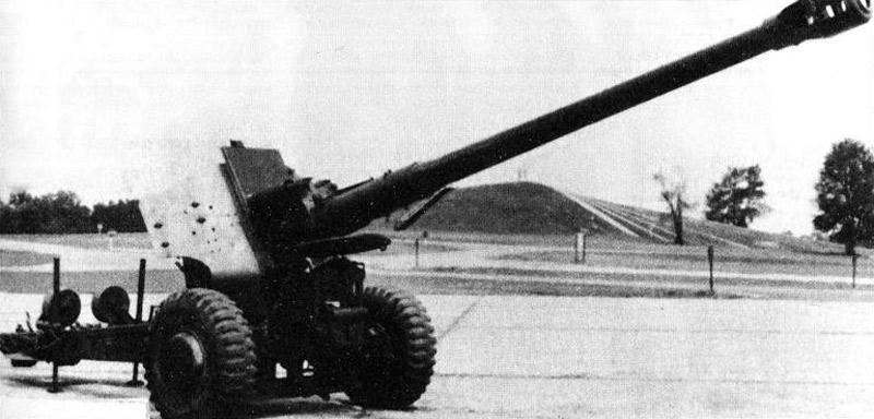 122-мм пушка Д-74 (О'Мэлли Т.Дж. Современная артиллерия: орудия, РСЗО, минометы. М., ЭКСМО-Пресс, 2000 г.)
