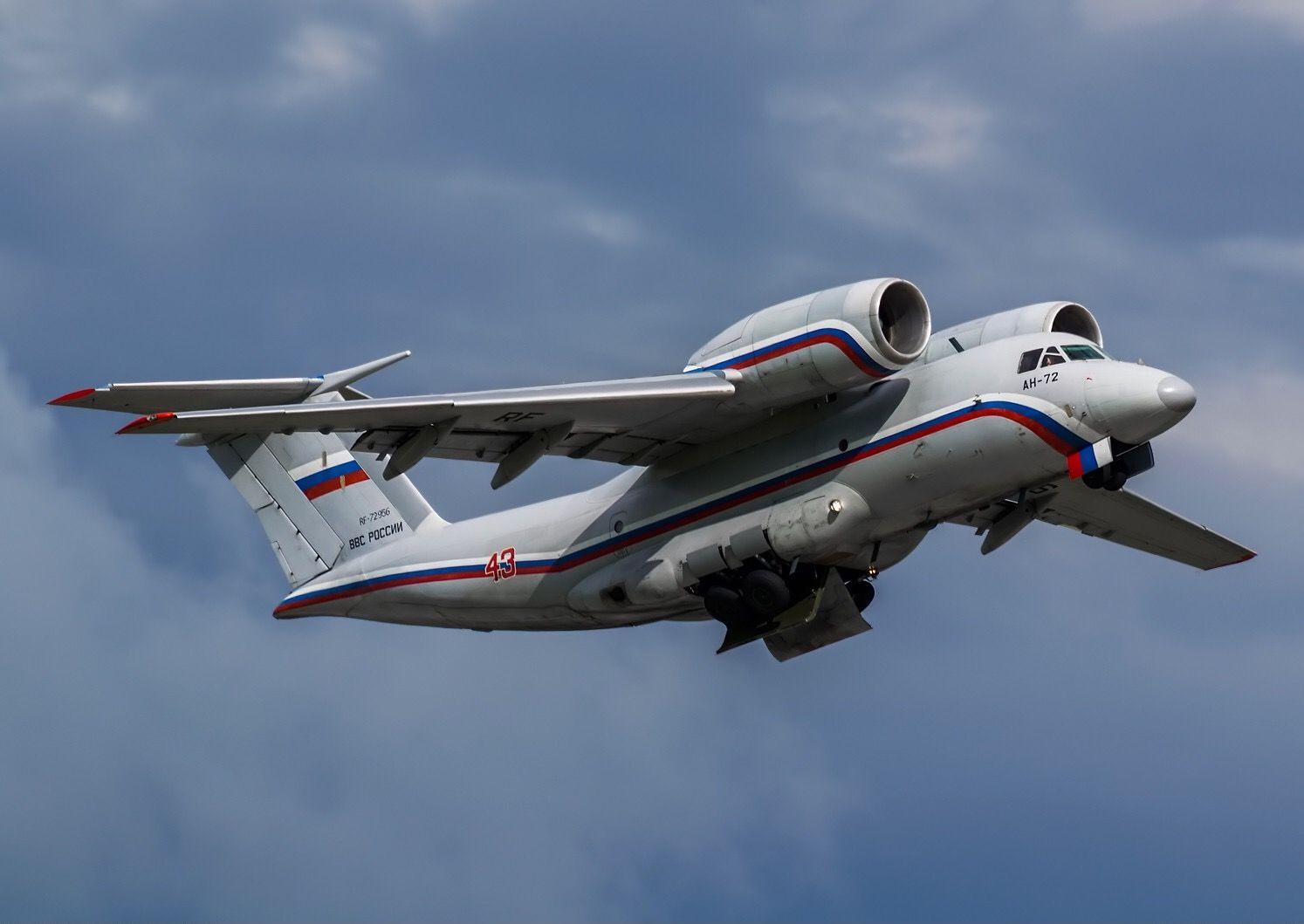 Военно-транспортный самолет Ан-72 (http://avia-mir.com)