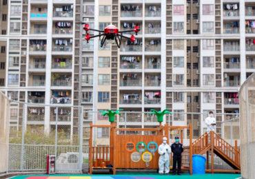 БПЛА против COVID-19: опыт Китая