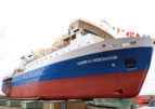 На Невском ССЗ спустили на воду головное судно проекта PV22 «Адмирал Невельской»