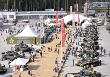 Выставка предприятий отечественного танкостроения на форуме «Армия-2020»