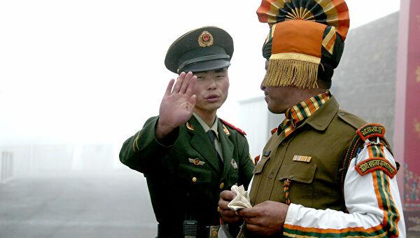 Индия Китай