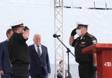 На Северной верфи подписан приемный акт фрегата «Адмирал Касатонов»