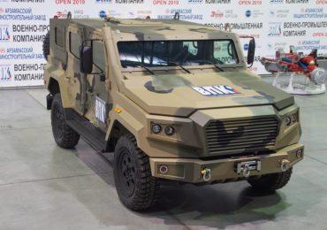 Специалисты ВПК изготовили легкий бронеавтомобиль «ВПК-Стрела»