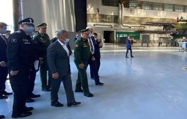 Шойгу проверил на Казанском авиазаводе ход выполнения ГОЗ