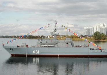 На СНСЗ спустили на воду корабль ПМО «Георгий Курбатов»