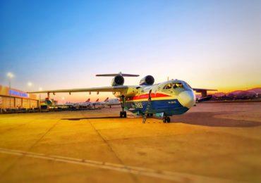 О результатах работы российских Бе-200ЧС в Турции