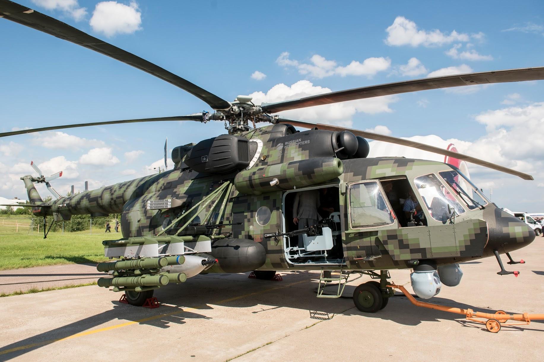 Штурмовой вертолет Ми-8АМТШ-В (https://rostec.ru/)