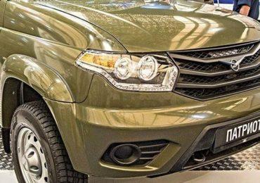 Военные получили внедорожники УАЗ «Патриот» армейской модификации