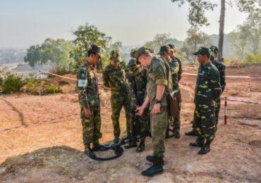 Российские специалисты подготовят саперов для Народной армии Лаоса