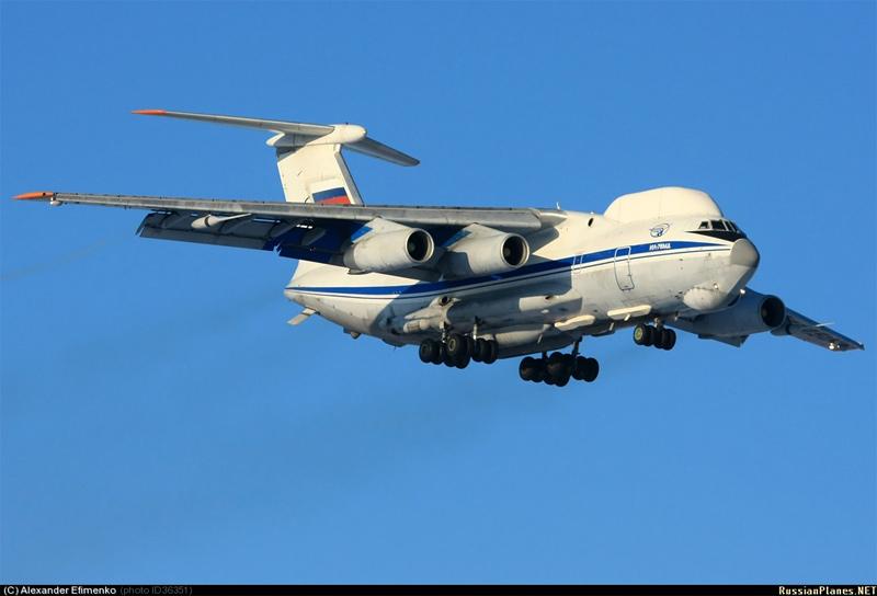 Ил-82 / Ил-76СК регистрационный №RA-76450, аэродром Чкаловский, декабрь 2010 г. (фото - Александр Шухов, http://russianplanes.net/id36351)