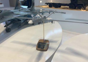 Первый российский ударный беспилотник представили на IDEX-2021