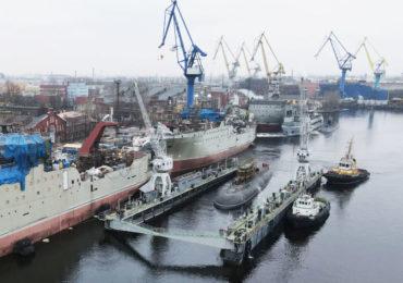 Начались швартовные испытания подводной лодки «Магадан»