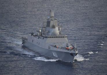 Фрегат «Адмирал Касатонов» прибыл в Кронштадт для участия в МВМС-2021