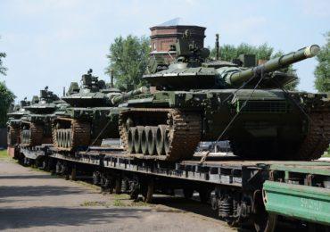 Партия Т-80БВМ отправлена в войска