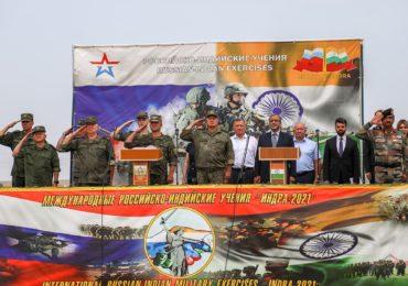 Российско-индийское учение «Индра-2021» официально открыто