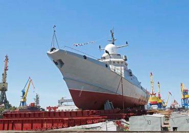 Малый ракетный корабль «Аскольд» спустят на воду в Керчи