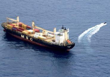 Российские моряки защитили панамское судно от пиратов